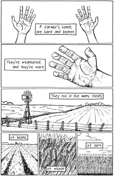 A Farmer's Hands - Page 1 by dvandegriend