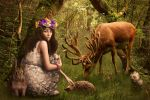 Forest fairy by Vera-Orlova