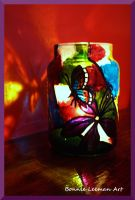 Butterfly Candle Jar by Bonniemarie