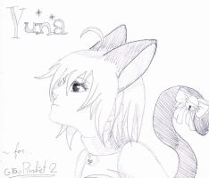 i drawned yuna for my big sis by miyuu1chan