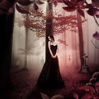 The whispering forest by KellieArt