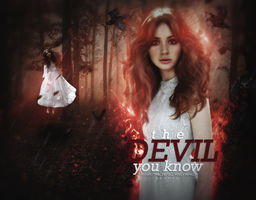 The Devil You Know // Karen Gillan by neonmania