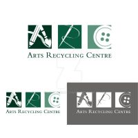 Arts Recycling Center Logo by LilFairie