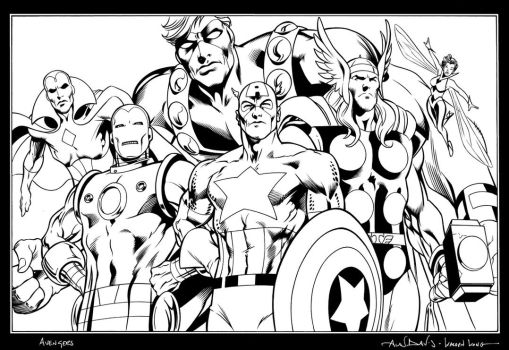 Avengers by WaldenWong