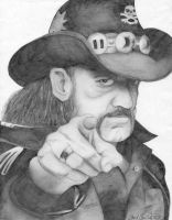 Lemmy from Motorhead by ToriAnne-Gustafson