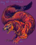 Day69: Weasel God by kaseykmay