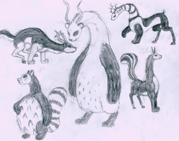 Pandelope Sketches by Poniker