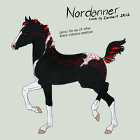 Nordanner Foal 1958 SOLD by Schn3e
