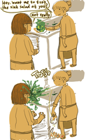 Toss the salad by OrangeDjuice