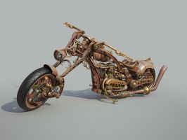 Chopper Steampunk style WIP 5 by Aci-RoY