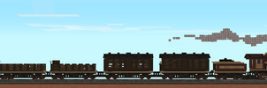 Mesa Valley Railroad - Government Freight by theIronHorse319