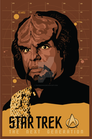 Lieutenant Worf by tracieching