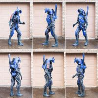 Legion cosplay - Mass Effect *Improved* by DashyProps
