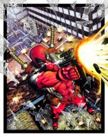DEADPOOL -Breaking Boarders 3 by Elfsar