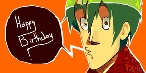 happy b-day from Lewis :3 by LilianFork