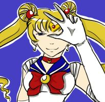 Sailor Moon by babysaki