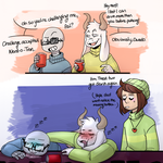 Drunk Pals by Ask-Blu-The-Unknown