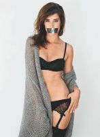 Cobie Smulders Gagged by N099ER