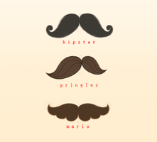 Moustaches by likos