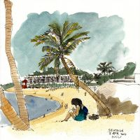 Sentosa Beach 2 by parka