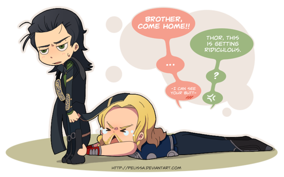 THOR:: Come back home pretty please by Pelissa