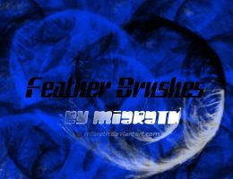 .:Feather Brushes:. by Miarath