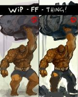 FF - REMAKE - THING WIP 3 by dtran