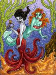 Sea Witch Bargains marker sketch for sale by Anamated