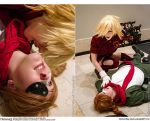 Hellsing Cosplay: Pip and Seras: Drink, Mignonette by Redustrial-Ruin