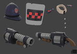 TF2 Police Demo items by Elbagast