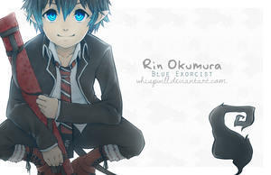 Rin Okumura by whispwill