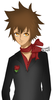 G: Tsuna by LotteQ