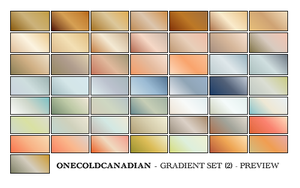 PSP7 Gradients - Set 2 by onecoldcanadian