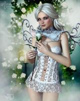 Allure of a Pale Beauty by RavenMoonDesigns