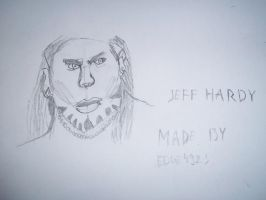 Jeff Hardy drawing(only the head) by edge4923