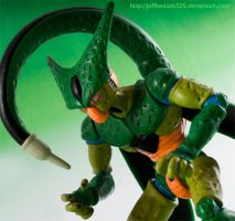 DBZ CELL Imperfect Form by jeffbedash325