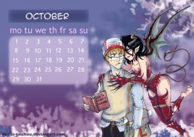 October Calendar 2012 by Dodus-Taichou