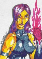Psylocke from Marvel comics by vanouka