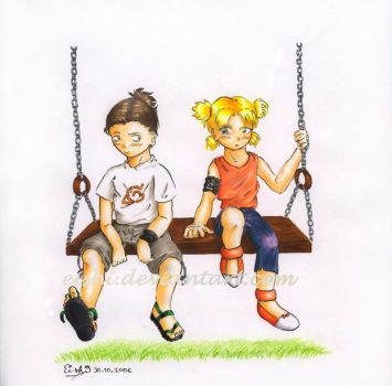 ShikaTema: the Swing by eishi