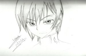 Lelouch vi Britannia- New fan-art by NNA12