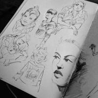 Sketchy sketch session 7 by Lelpel