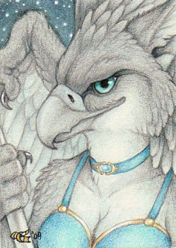 Andromeda ACEO by Goldenwolf