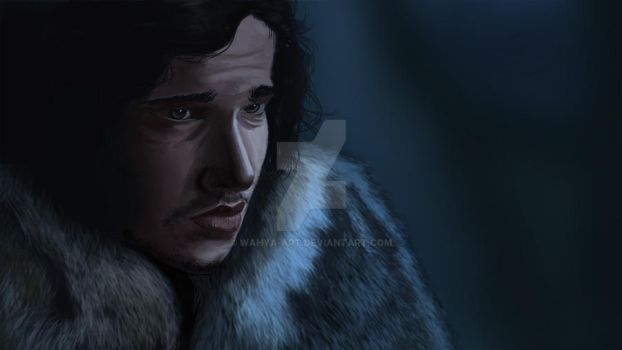You know nothing jon snow by Wahya-art