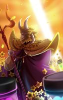Asgore the King by YAMsgarden