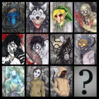 Which CreepyPasta should I draw next...? by ChrisOzFulton