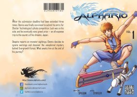 Alphario Vol. 1 - Cover by splgum