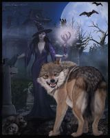 A-Witch's-Wolf---Beware!!- by JaneEden
