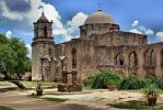 Mission San Jose 36 - Gorgeous Domed Stone Church by DamselStock
