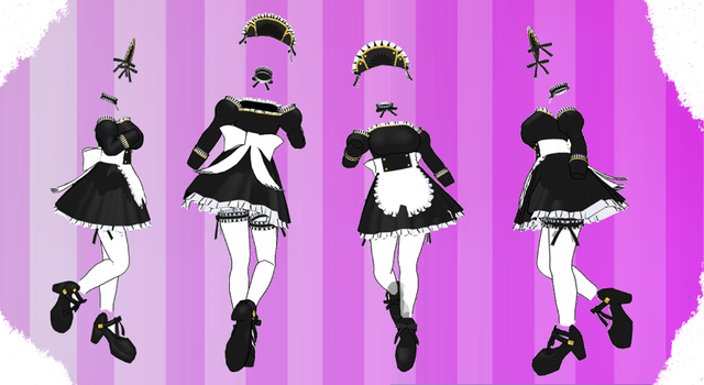 MMD Outfit 120 by MMD3DCGParts