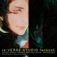 art guest: Studio Ghibli fanbook Preview by keerou